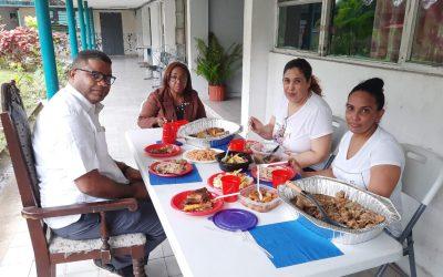 Cónsul ofrece almuerzo a internas Dominicanas en Centro de Rehabilitación Femenino